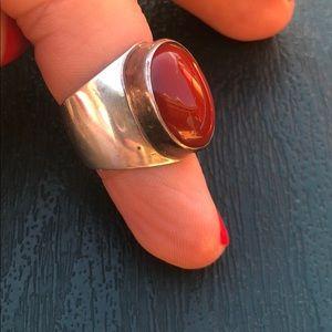 Nakai silver ring